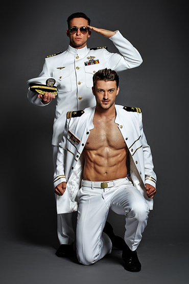 Duoshow als Marineoffiziere (US-NAVY) - Berlin-Dreamboys.com